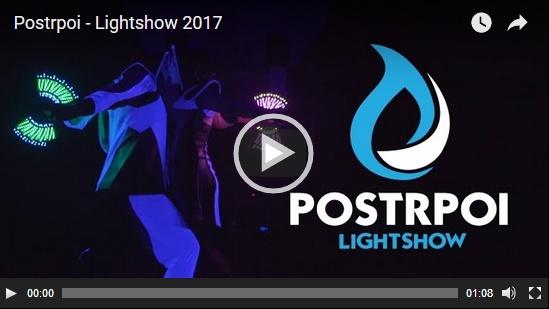 Postrpoi - Lightshow - Světelná show video