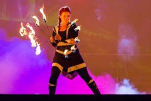 fireshow - ohňová show plná pyroefektů