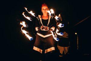 fireshow - ohnivá akce Postrpoi