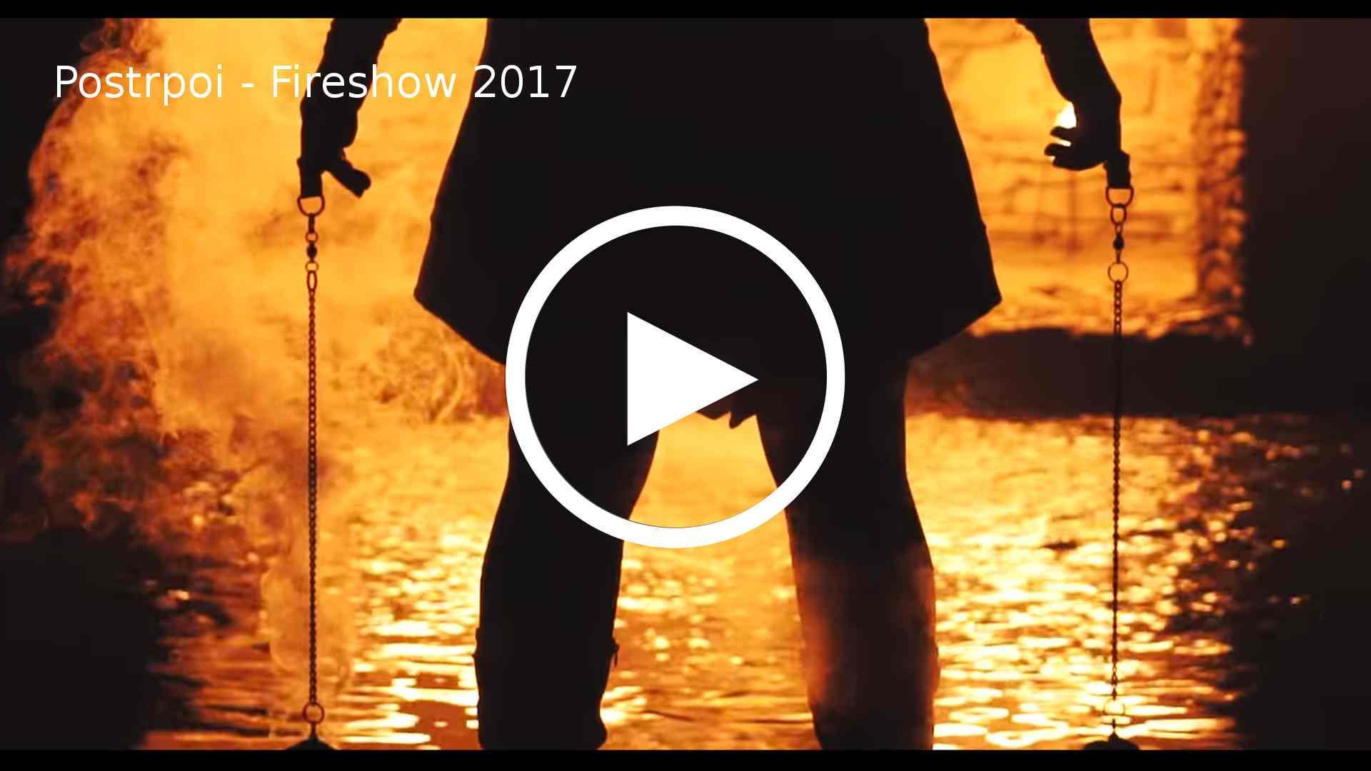 ohňová show - skupina Postrpoi - promo video