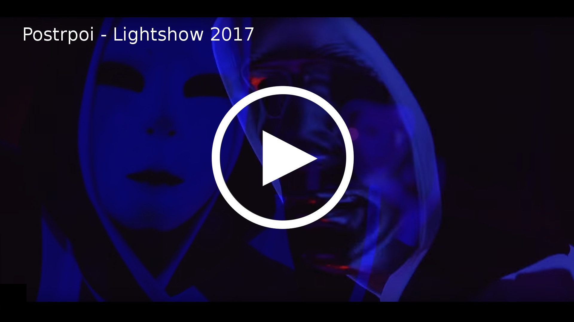 led show, laser show, uv show - skupina Postrpoi promo video