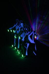 světelná show Postrpoi - led, lasery, uv show