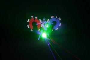 grafická tyč, lasershow